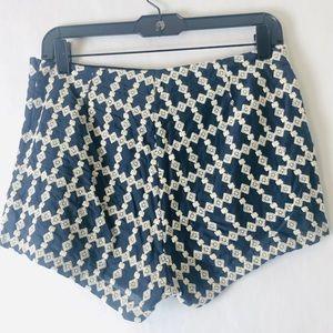 Blue Rain Shorts